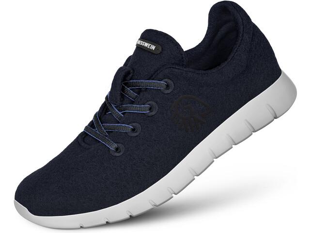 Giesswein Merino Runners - Calzado Hombre - azul